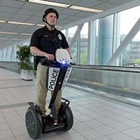 click here to learn more about the use of segway in policing and security